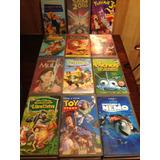 Películas Originales Disney En Vhs