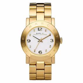 Reloj Marc Jacobs Original Mbm3056 Tono Oro (tmbn Kors)
