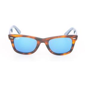 12336c757 Ray Ban Wayfarer Espelhado Azul Veio Dos Eua - Óculos no Mercado ...