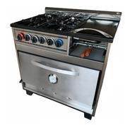 Cocina Industrial Tecnocalor 4h + Plancha Carlitero Ahora 12