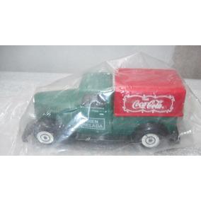 Camioneta Die Cast Publicidad De Coca Cola Esc 1:55