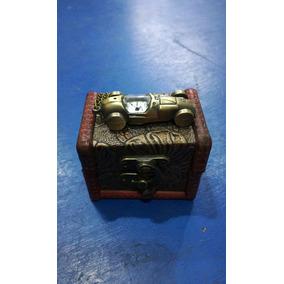 Reloj De Bolsillo Auto Vintage Con Caja De Regalo