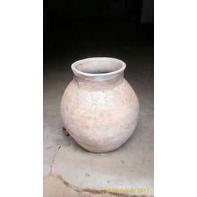 Pote De Barro Branco De Minas Gerais-reliquia-coleção