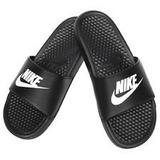 Ojotas Nike Benassi Negra Talles 39 Al 45 Original Nuevo