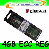 Kingston 4gb Ddr3 1333mhz Ecc Reg 1r X8 P/server