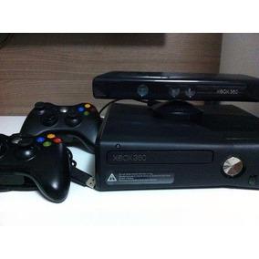 Xbox 360 Destravado+kinect+20jogos+2controles+garantia