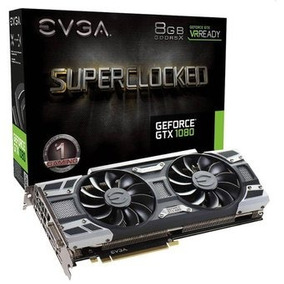 Evga Geforce Gtx 1080 Sc Gaming, 08g-p4-6183-kr, 8gb Gddr5x,
