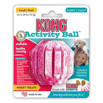 Kong Puppy Activity Ball Chico Juguete De Entretenimiento