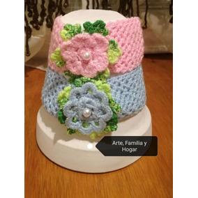 Diadema Tejida A Crochet Bebe Niñas Mama E Hija Envió Gratis