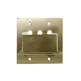 Espelho Placa P/piso Metal 4x4 Rj45/rj11 Sta