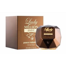 Perfume Lady Million Prive 80ml Paco Rabanne Original Lacrad
