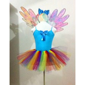 Disfraz Rainbow Dash My Little Pony Niña Mi Pequeño Pony