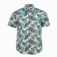 Camisa Estampada Manga Corta Mod. Alohi  - Costavana
