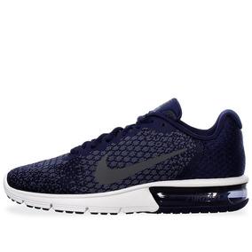 Tenis Nike Air Max Sequent 2 - 852461406 - Azul Marino - Hom