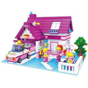 Lego meninas lego e blocos de montar no mercado livre brasil for Casa moderna lego