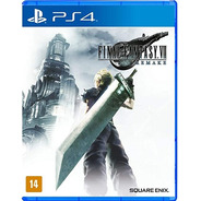 Jogo Playstation 4 Final Fantasy Vii  Remake