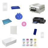 Kit Diamante Prensa 3d + Impressora Sublimação