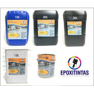 Tinta Epóxi T65/cba - Kits Com 3,6 Litros - Cinza Escuro