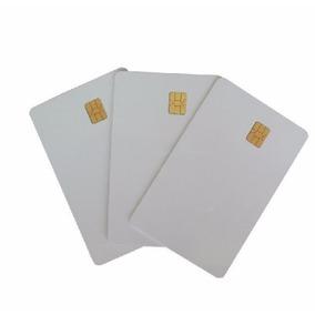 Smartcard Pvc Chip E Tarja Magnética Sle 4442
