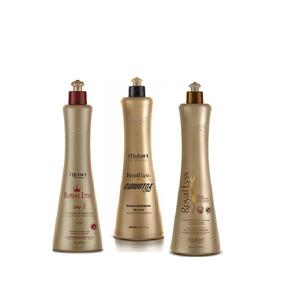 Escova Royal Liss Premium Mutari - 3 Itens