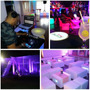 Alquiler Muebles Y Salas Lounge, Led, Sillas Altas, Open Bar