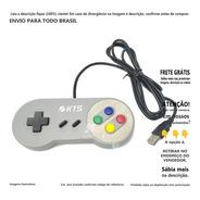 Controle Super Nintendo Usb Joystick Para Pc Windows A@