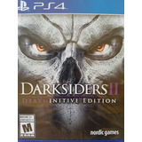 Darksiders 2- Ii Deathinitive Edition Ps4 Delivery Stock Ya