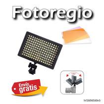 Lampara Led 160 3 Pantallas Nikon Canon Sony Olimpus