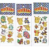 Stickers Laser Pokemon Brillantes Por 15 Planchas Remato !!