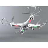 Drone Syma X5c-1 Equipado Com Leds Facilitando O Vôo Noturno