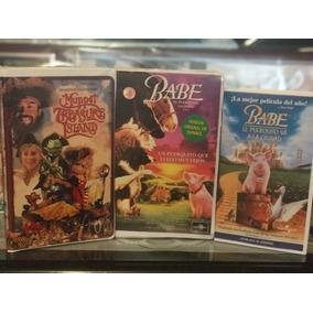 Muppets, Babe El Puerquísimo Valiente 1 Y 2 Vhs Originales