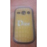 Capa Celular-case-galaxy Pocket 5300-plástico Duro-est. Dior