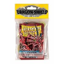 Protetor De Cartas Para Yu-gi-oh! Dragon Shield 50un Fucsia