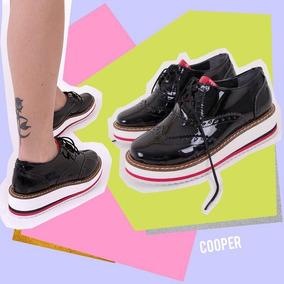 c80afec9 Zapatos De Cuero Y Cordones Con Plataforma Converse - Mocasines de ...