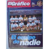 El Grafico 4028 Selección Argentina Equipo En Tapa Veira