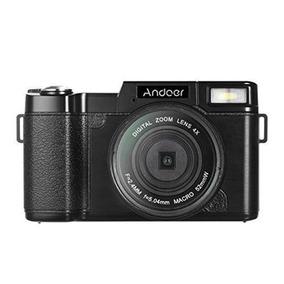 Cámara Digital Andoer R1 1080p 15fps Completo Hd 24mp Calid