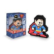 Lampara De Superman 8bits Luz Led Pixel Pals Dc 029