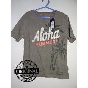 Camisa Camiseta Infantil Polo Tommy Hilfiger Menino 4 A 12