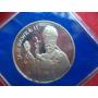 Polonia 10000 Zlotys 1987 Visita Papa Juan Pablo Ii Proof