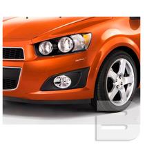 Kit Aplique Adesivo Protetor Para-choque Chevrolet Sonic