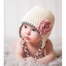 Gorros Tejidos Crochet Bebé Niña Niño Regalo Babyshower