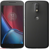 Celular Libre Motorola Moto G4 Plus Negro Le Huellas Me 32gb