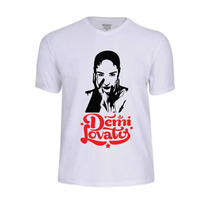 Camisas Camisetas Demi Lovato Lovatic Personalizada Tshirt