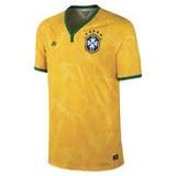 Camisa Brasil Nike Copa Do Mundo 2014 Amarela