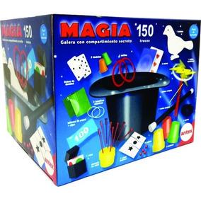 Juego De Magia 150 Trucos Con Galera Original Antex Original