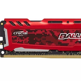 Memoria 16gb Ddr4 2400mhz Crucial Ballistix Gaming 1.2v