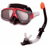 Careta Con Snorkel Intex