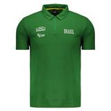 Camisa Polo Seleção Volei Cvb Brasil Original Tamanho G