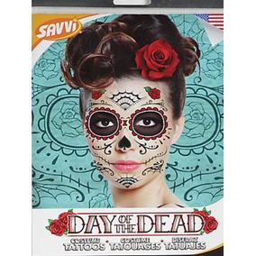 Tatuajes Temporales De Día De Muertos Catrina