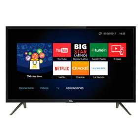 Smart Tv Led 32 Tcl L32s4900 Tda Wifi Youtube Netflix Cupon